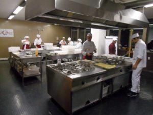 4 Gruppo del corso amatoriale anno 2015 a Tu Chef