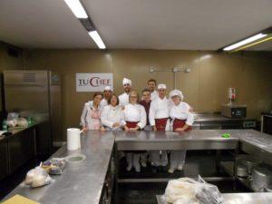 1 Gruppo del corso amatoriale anno 2015 a Tu Chef