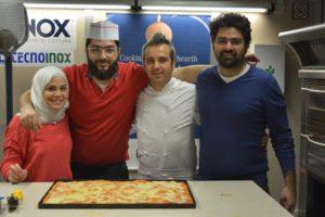 Corso Professionale di pizza alla teglia per classe araba