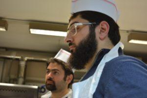 Corso Professionale di pizza alla teglia per classe araba 5