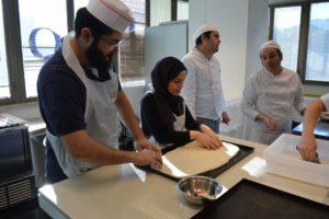 Corso Professionale di pizza alla teglia per classe araba 3